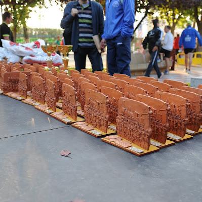 XV Media Maratón Memorial Mariano Rivas Rojano 2011 - Trofeos