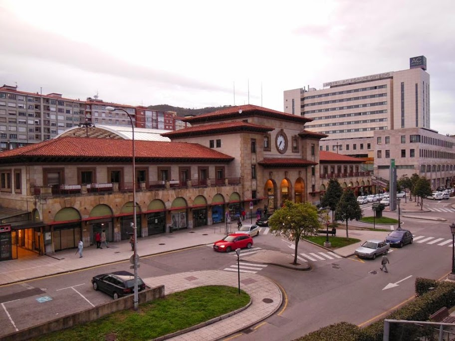Estación de tren de Oviedo