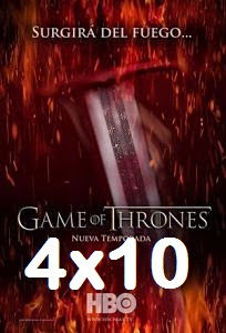 Juego de Tronos Temporada 4×10 online