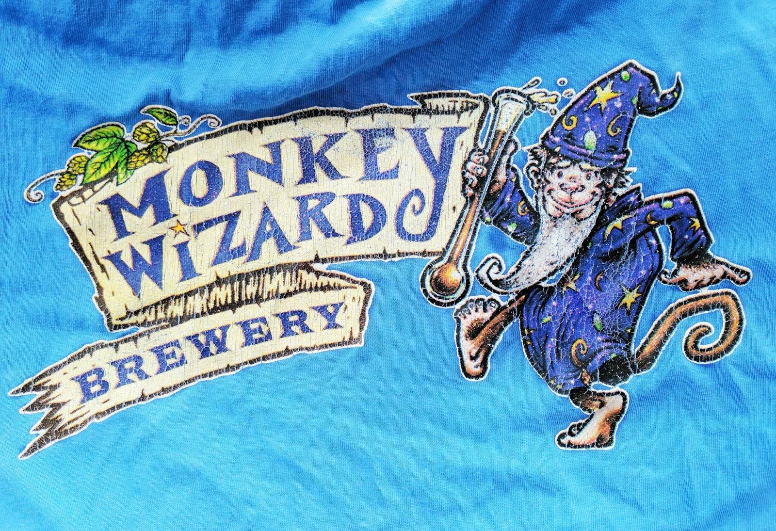 Monkey Wizard Brewery t-shirt