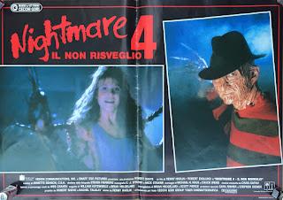 Italian Lobby card Nightmare 4 1 of 6  26x19 #1
