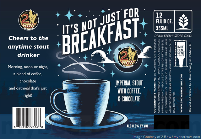 2 Row Brewing - It's Not Just For Breakfast