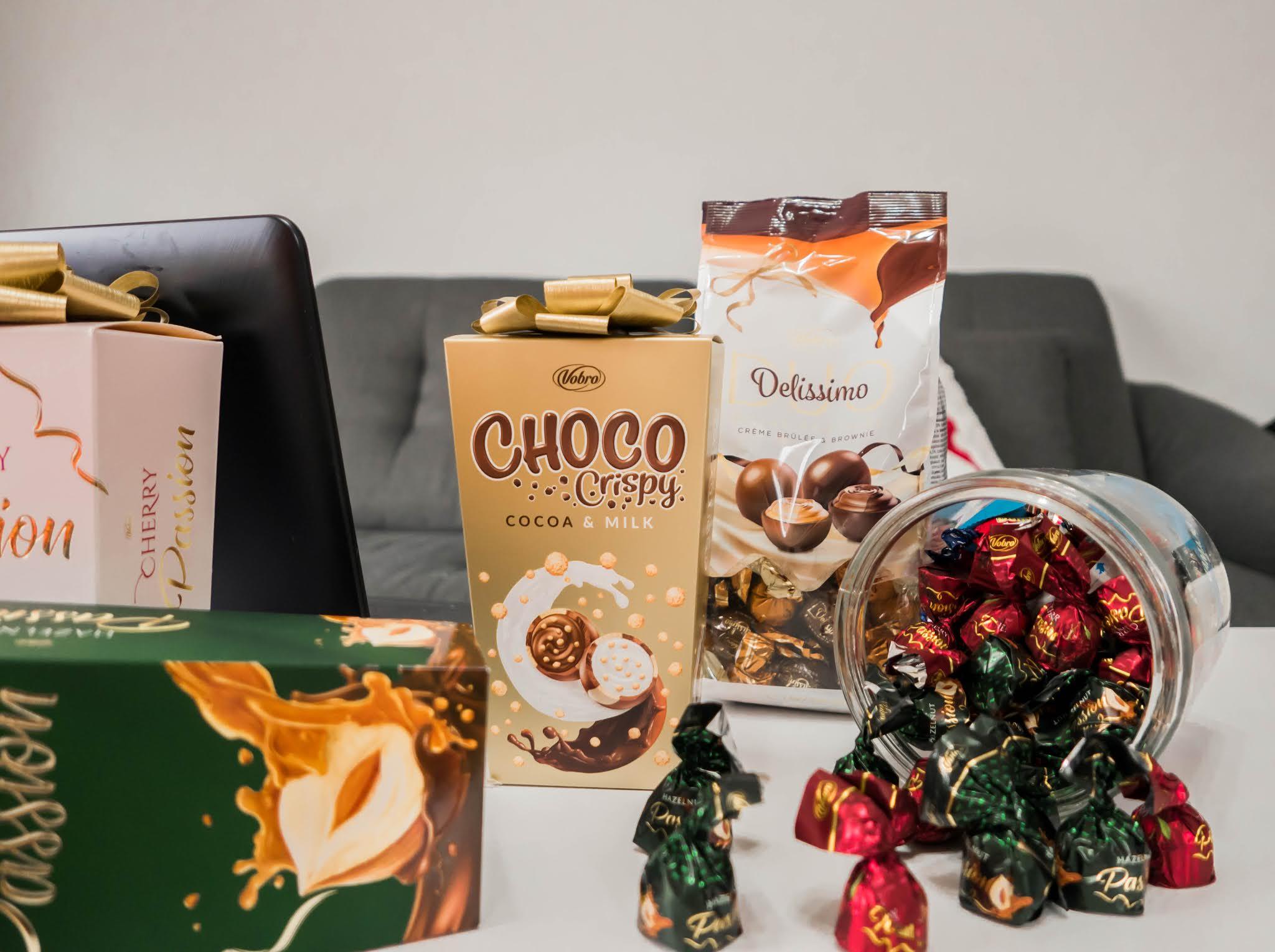 polskie czekoladki i praliny