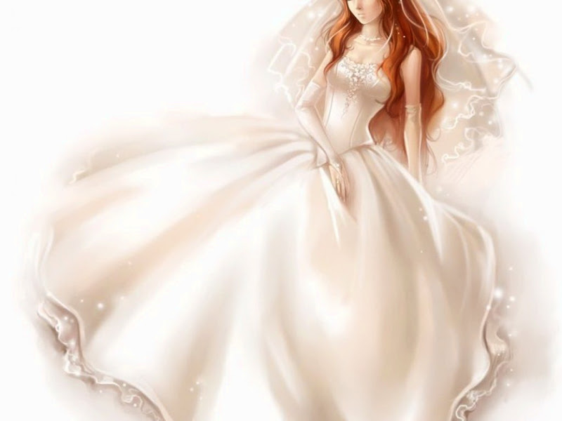 Big White Dress Beauty, Magic Beauties 2