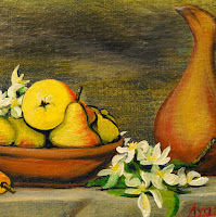 pears fruit still life