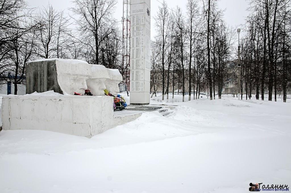 Памятник погибшим воинам