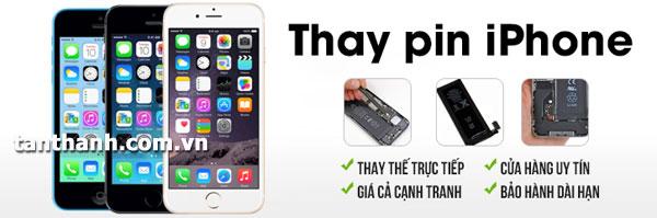dịch vụ thay pin iphone chuyên nghiệp tại Thái Nguyên