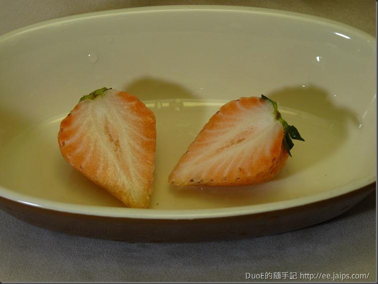 日本白草莓-剖面