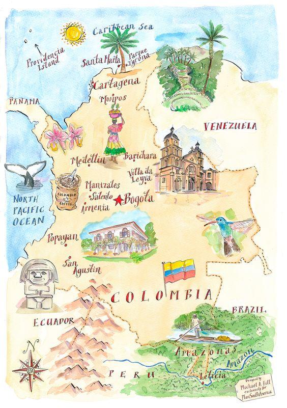 2017 a la-s- 3:09:47 p.m.Mapa de Colombia con sus regiones naturales y sus productos