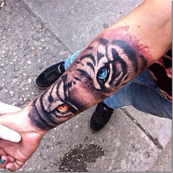 Tatuajes De Tigres Creativas E Inspiradoras Tatuajes247