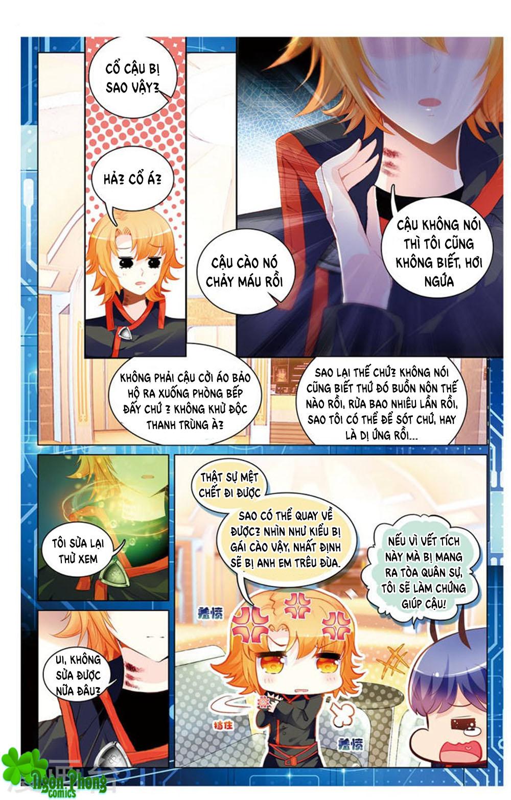Hắn Đến Từ Sao Hỏa chap 19.1 - Trang 6