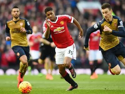 Rashford: I watched Arsenal because of one man