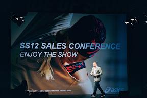 Modeshow en congres Asics Tiger