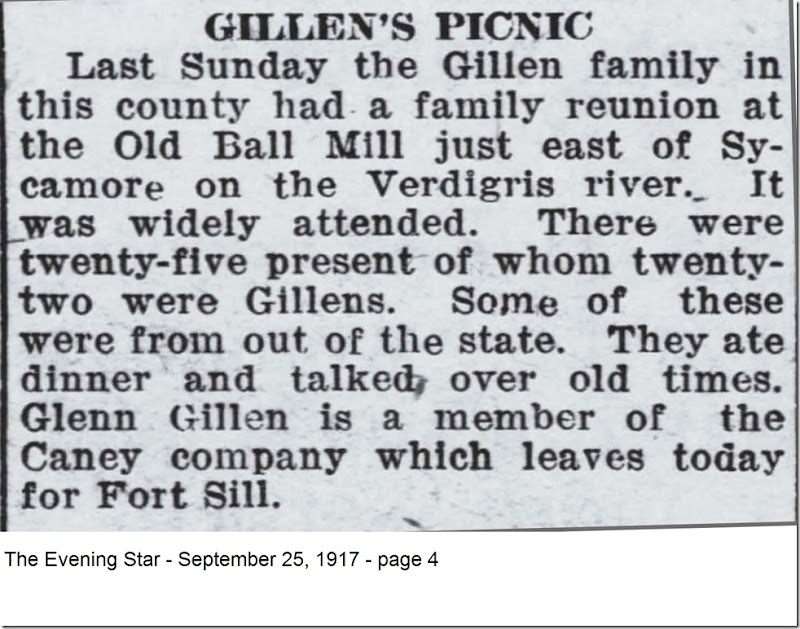 GILLEN_picnic_The Evening Star_25 Sep 1917_pg 4_cropped-annotated