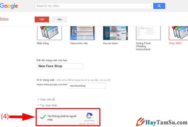 Google Sites là gì? Hướng dẫn cách tạo website miễn phí với Google Sites + Hình 5