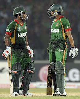Vital fourth wicket stand between Imrul Kayes and Shakib Al Hasan combined the basis for victory of Bangladesh, Bangladesh v England, Group B, World Cup, Chittagong, March 11, 2011