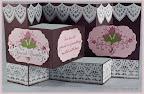 Tri-Shutter Wedding Card