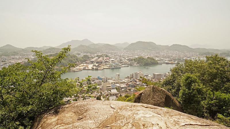 尾道 ポンポン岩 写真
