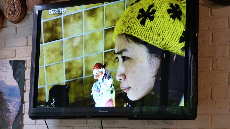 L an dernier,La chef,tres sympa, a accompagne une equipe de tele Taiwanaise  en haute provence . Tout au long du repas on voit le film qui donne drolement faim