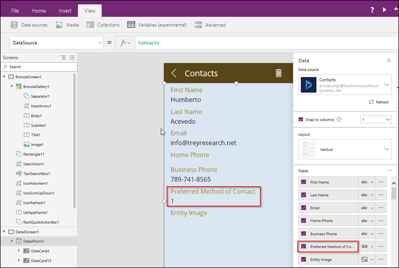 MSCRM Shop: PowerApps and CRM optionsets