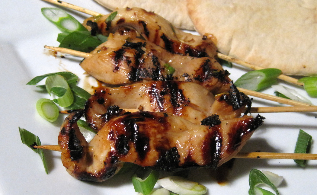 Jan's Chicken Teriyaki Skewers