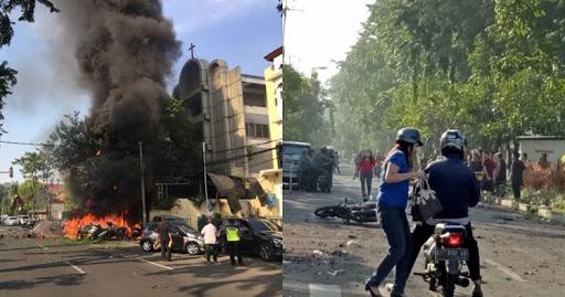 Densus 88 Ledakan Bom di Surabaya