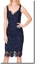 Damsel in a Dress Boned Lace Midi Dress