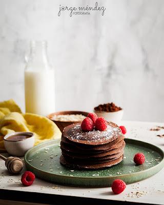 Tortitas saludables de Avena y Cacao