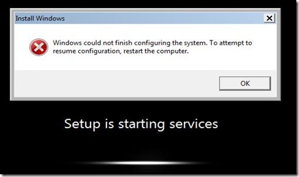 windows error-sysprep