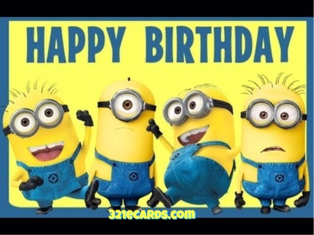 Pictures of Minions Saying Happy Birthday 2016 Happy Birthday Minion