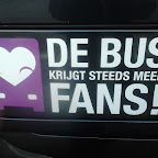 De Bus krijgt steeds meer FANS! Logo