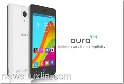 Himax Aura Y11, Android Lollipop Murah dengan RAM 1GB
