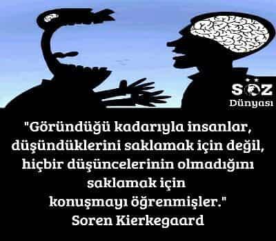 Soren Kierkegaard Sözleri