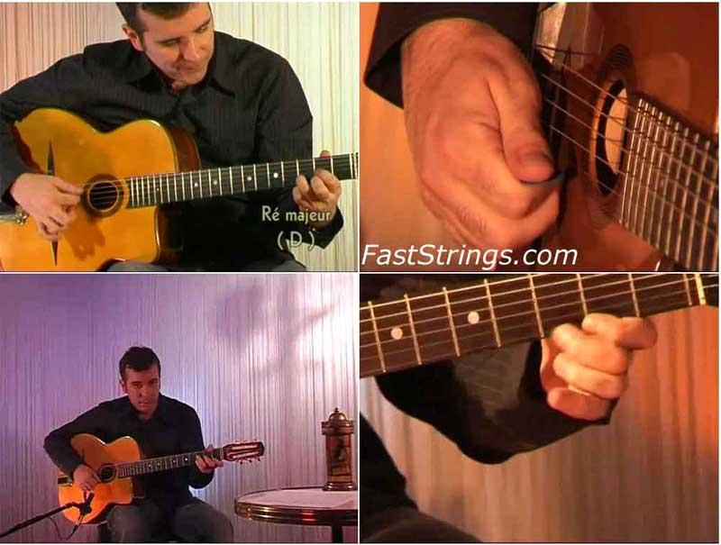 Samy Daussat - Debutant Guitare Manouche