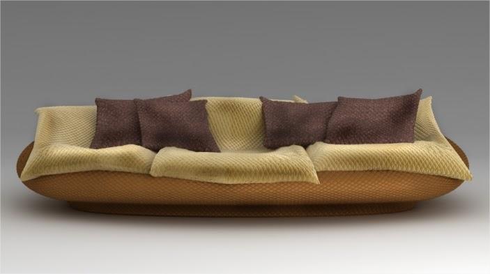 Giovannetti collezioni design ispirato alle ninfee di monet - Divano anfibio giovannetti ...