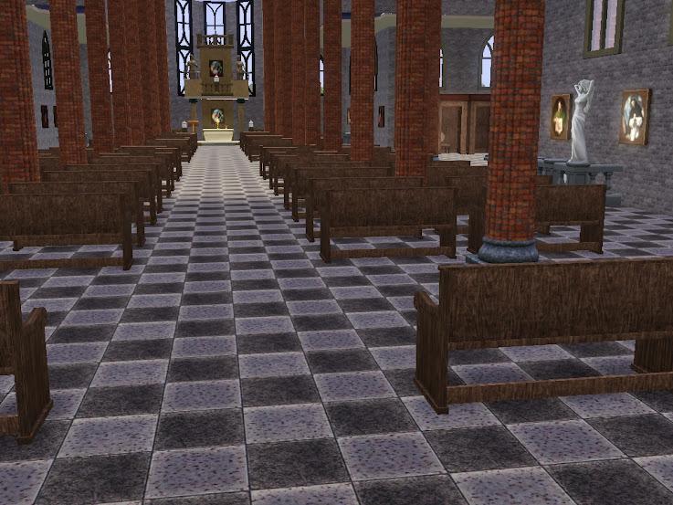 gotische kathedraal sims3