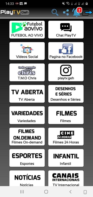 O Melhor Aplicativo De TV Com Filmes E Séries Grátis, Contendo Canais de esportes e muito mais !