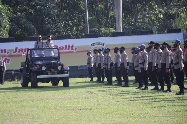 162 Siswa Papua Menjalani Diktuba di SPN Kemiling Polda Lampung