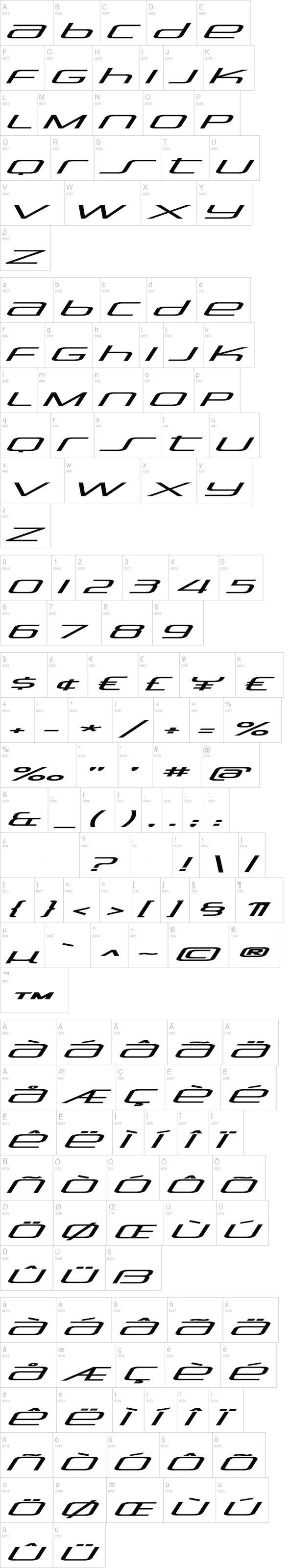 Stasmic tipografias abecedario