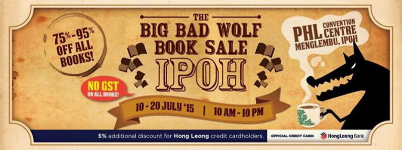 Announcement: 2nd Big Bad Wolf Book Sale in Ipoh