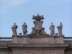 Περίτεχνη στέγη κάπου στη Ρώμη