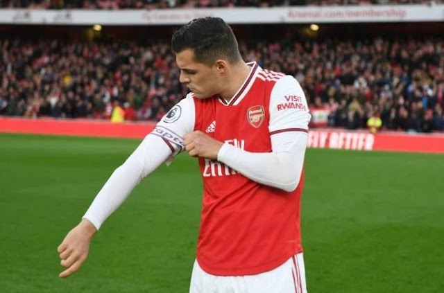 I want to leave the Emirates - Granit Xhaka