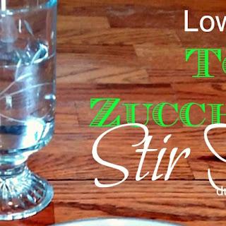 Quick Low Carb Tofu Zucchini Stir Fry Recipe