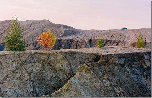 Романцевские горы (Романцевские карьеры), Кондуки, Тульская область