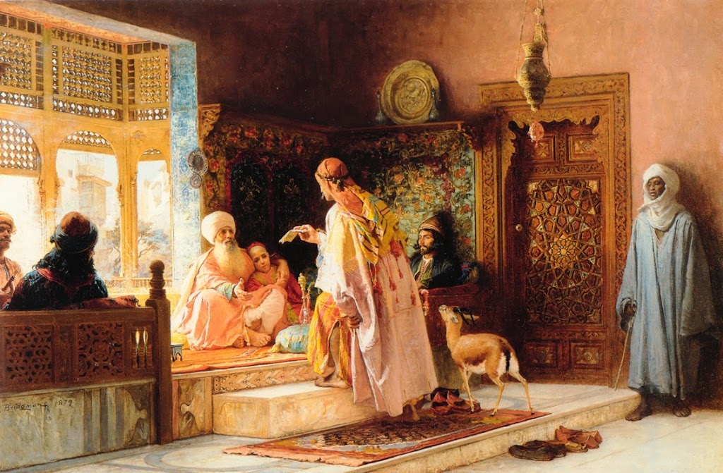 Frederick Arthur Bridgman - The Messenger