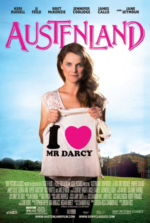 Poster Of English Movie Austenland (2013) Free Download Full New Hollywood Movie Watch Online At Alldownloads4u.Com