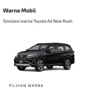 Toyota New Rush black
