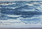 La Bora Falconara III, olio su tela, 70 x 100 cm, 2008