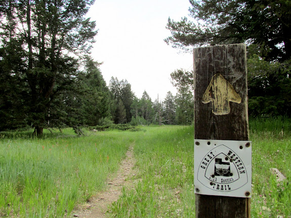 Great Western Trail sign