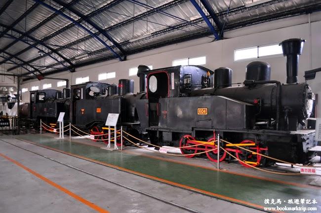 溪湖糖廠蒸汽火車展示館